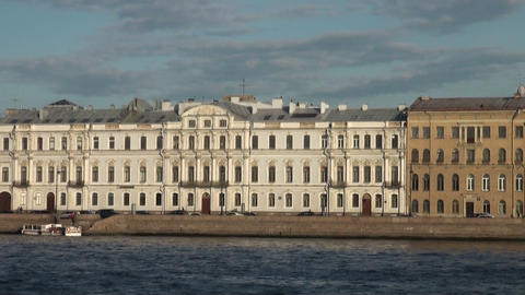 Mansion Gagarina in St. Petersburg Stock Video Footage