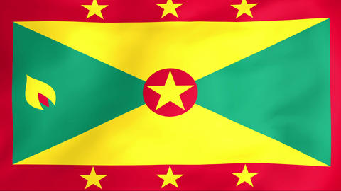Flag Of Grenada Animation