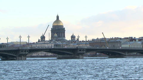 St. isaac's cathedral Stock Video Footage
