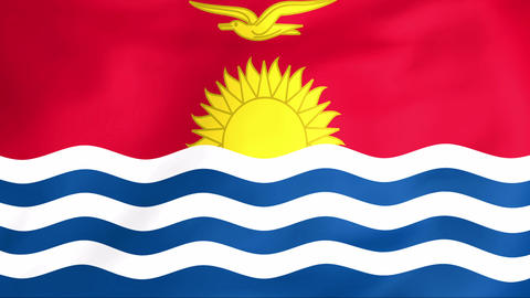 Flag Of Kiribati Animation