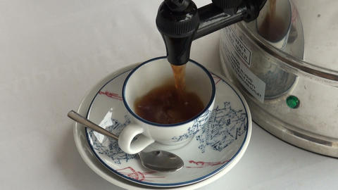 A Cup of coffee Stock Video Footage