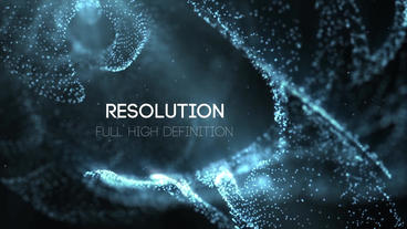 The Blue Space Titles After Effects Project