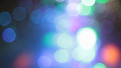abstract blur With Blinking Bokeh bright party lights Abstract Glitter Defocused Footage