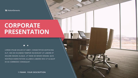 Promo Corporate Slide After Effects Template