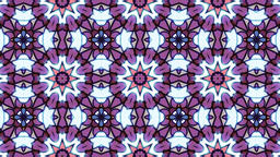 Pink kaleidoscope sequence patterns Animation