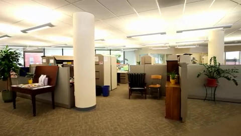 Business Offices Modern design Footage