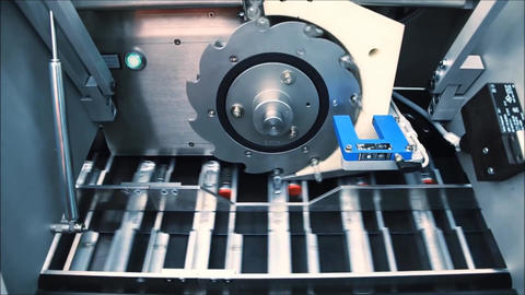 pharmaceutical bottle production plant3 Footage