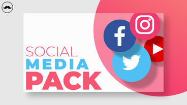 Social Media Pack After Effects Template