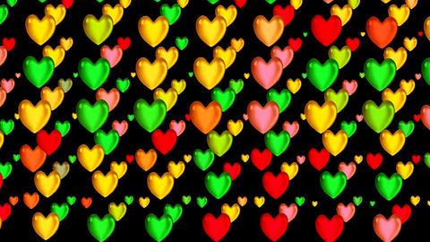 HEART DECOR FULL SCREEN Animation