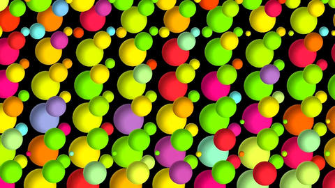 COLOR CHANGING BUBBLES Animación