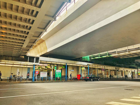 Nishi-Nippori Station Scenery of underpass Photo