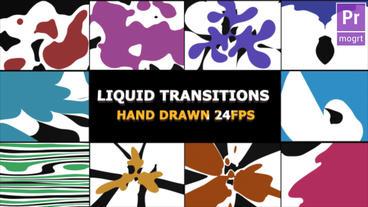 Dynamic Splash Transitions Motion Graphics Template