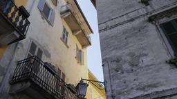 Classic Italian Residential Buildings in Orta San Giulio ビデオ
