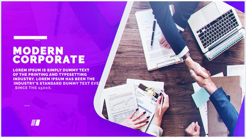 Corporate Trend After Effects Template