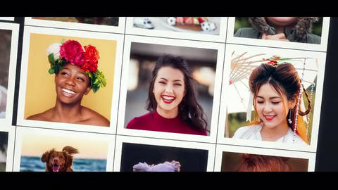 Multi Photo Opener After Effects Template
