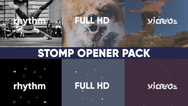 Stomp Pack After Effects Template