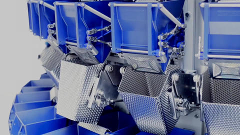 Weighing technology High-Speed Weighing of Jelly product Multi head Weigher 2 Live Action