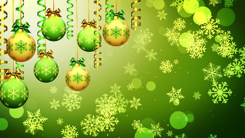 Christmas Bauble Ornaments Animation