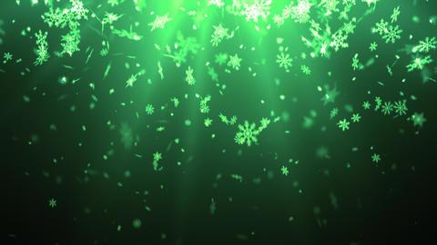 Drifting Winter Snow Flakes Animation