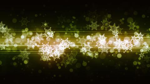 Glittering Fashion Snow Flakes Animation