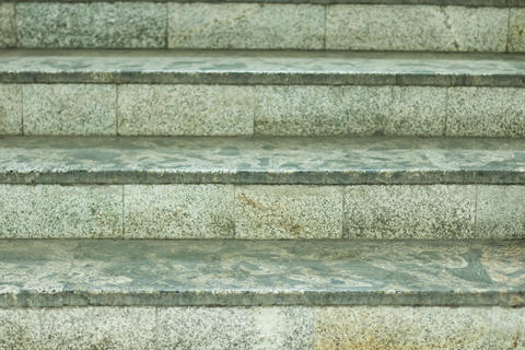 Background of stairs made of granite フォト