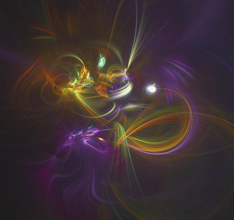 Abstract background with interlacing Photo