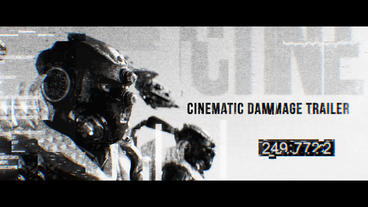 Cinematic Damage Trailer Premiere Proテンプレート