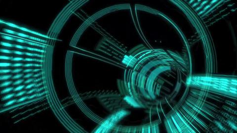 Looping Future Tunnel Animation