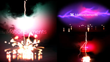 Lightning Explosion Logo Reveal Premiere Pro Template
