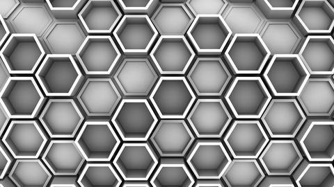 Background of Hexagons 애니메이션