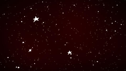 falling stars and depth of field Animation