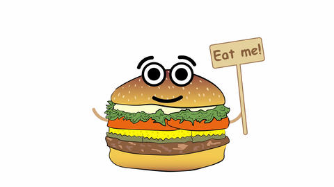 Eat me cheeseburger Animation