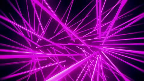 Purple Neon Tubes Vortex VJ Loop Abstract Motion Background Animation