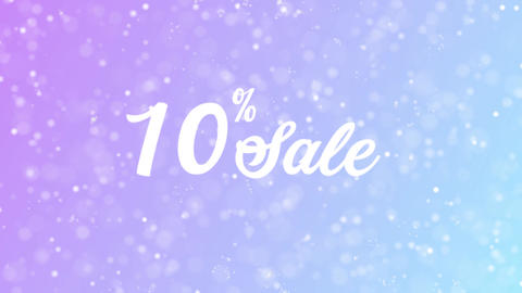 Sale Offer Discount Celebration Text Animation 0