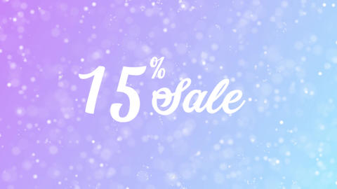 Sale Offer Discount Celebration Text Animation 1