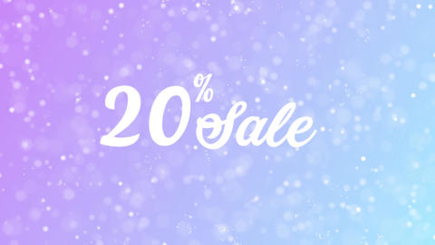Sale Offer Discount Celebration Text Animation 2