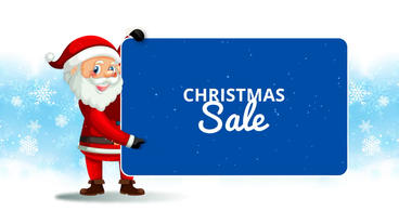 Christmas Season Sale After Effects Template