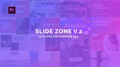 Slide Zone V 2 Motion Graphics Template