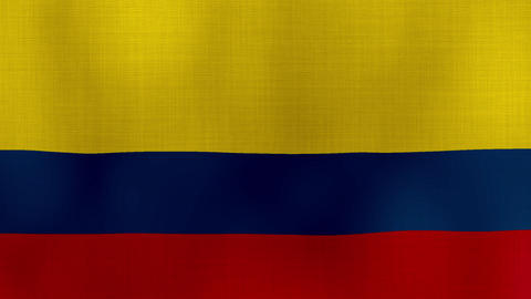 Flag Colombia 01 Live Action