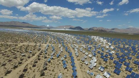 Solar panels. Solar energy An alternative source of energy is solar panels Footage