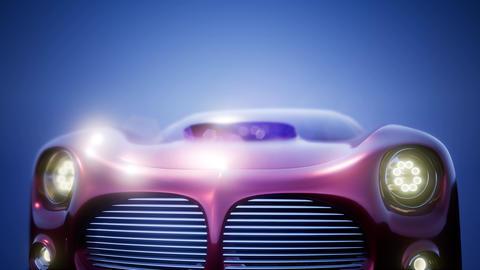 Luxury Brandless Sport Car Archivo