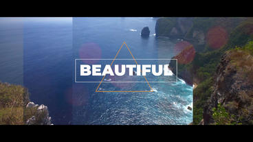 Cinematic SlideShow Premiere Pro Template