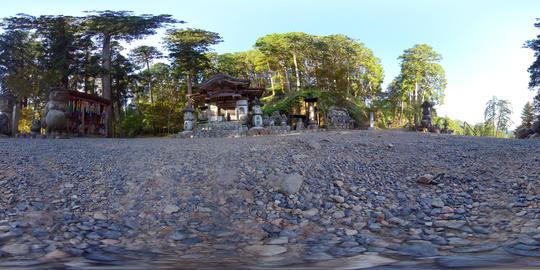 360° 4K MOVIE 【VR】 Japanese temple VR 360° 動画