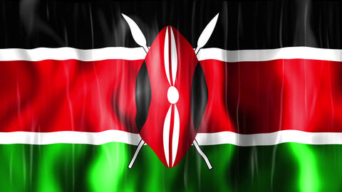 Kenya Flag Animation