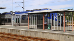 French Regional Train stock footage