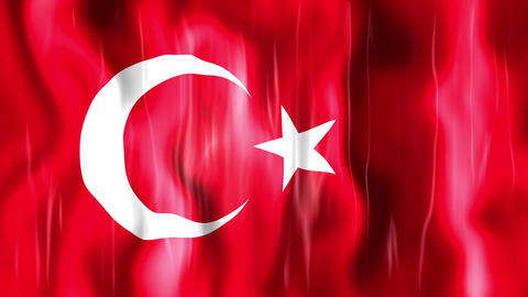 Turkey Flag Animation