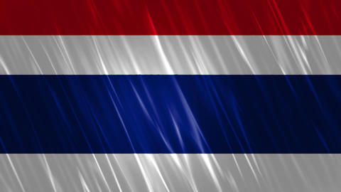 Thailand Flag Loopable Background Animation