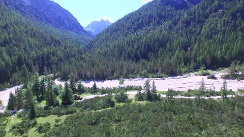 1004038 Dolomites Mountains DJI 0120 2 4 stock footage