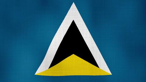 Flag Saint Lucia 02 ライブ動画