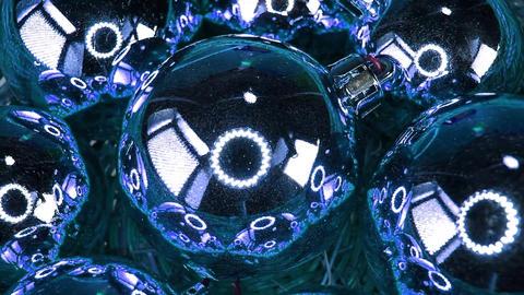 Blue Christmas bauble ball baubles balls ornaments xmas decor Live Action